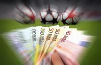 billets euros ballons foot paris sportifs